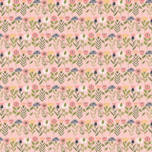 Poppie Cotton Country Life - Fresh Cuts-Pink