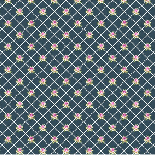 Load image into Gallery viewer, Poppie Cotton. Gingham Farmhouse - Lattice