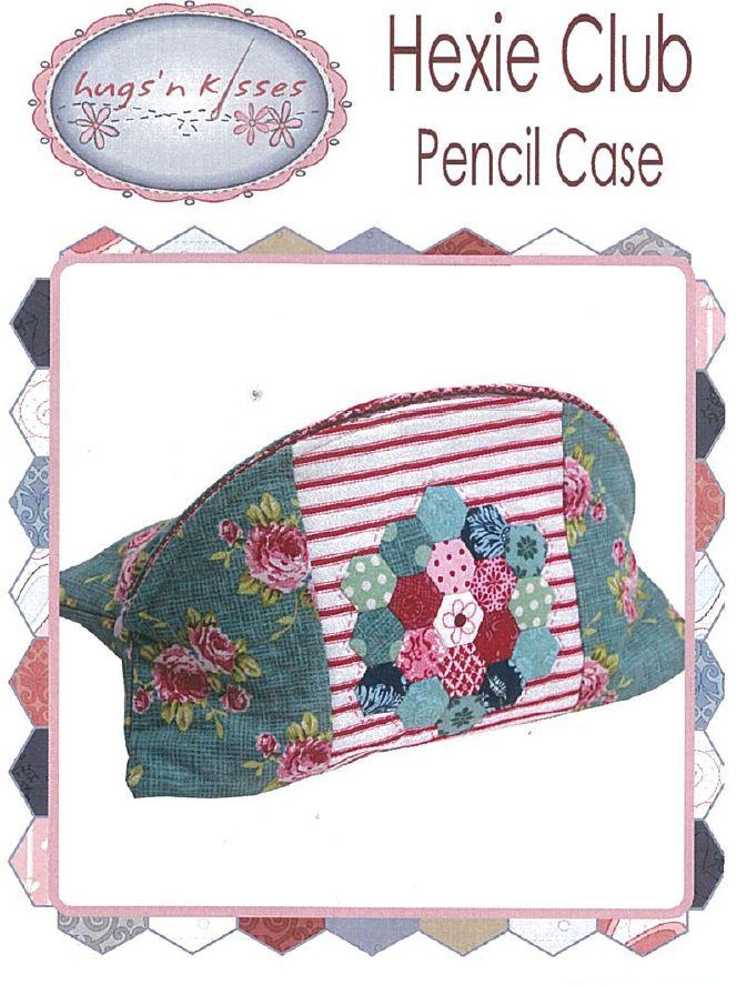 Hugs'nKisses Hexie Club - Pencil Case