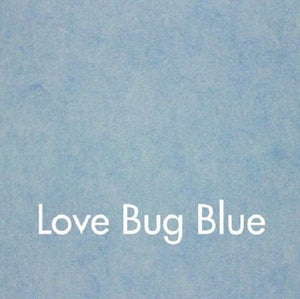 Woolfelt: Love Bug Blue 18 x 12 inches