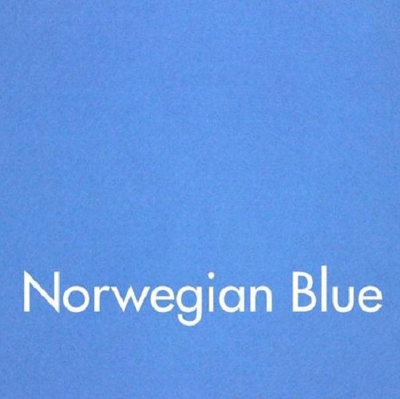 Woolfelt: Norwegian Blue 18 x 12 inches