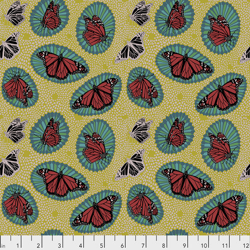 Load image into Gallery viewer, Free Spirit Fabrics - One Mile Radiant -Monarch - Golden