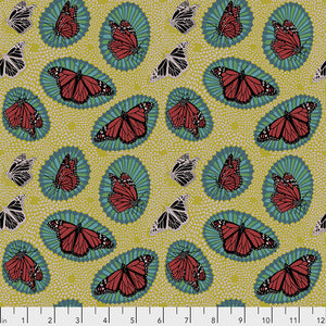Free Spirit Fabrics - One Mile Radiant -Monarch - Golden