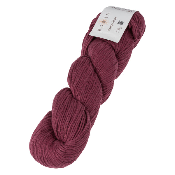 Copy of Rowan Creative Linen Raspberry