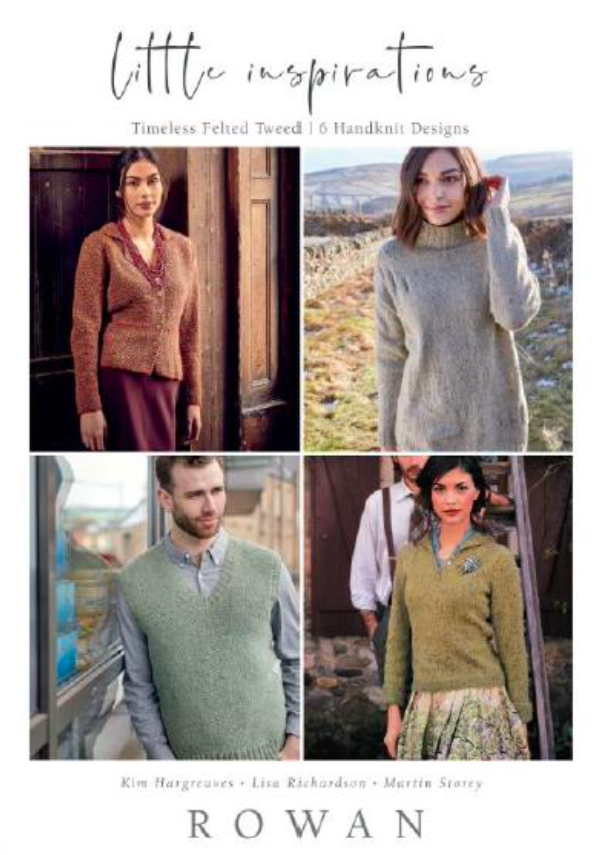 Rowan - Little Inspirations - Timeless Felted Tweed