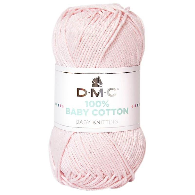 D.M.C. 100% Baby Cotton - Baby Pink