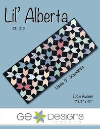 Ge Designs - Lil' Alberta - table runner