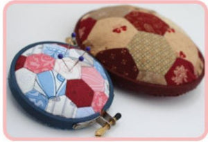 Load image into Gallery viewer, Hugs'nKisses Hexie Club - Pin Cushion