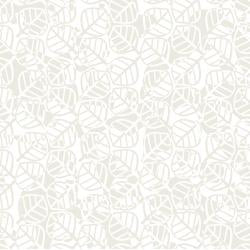 Load image into Gallery viewer, Gray Matter - Optical Leaves - white on Ivory