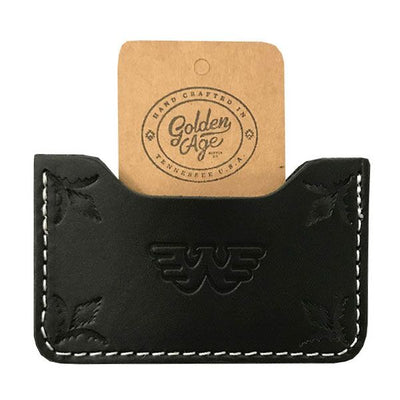 Waylon Jennings Leather Credit Card Wallet - Accessories - Waylon Jennings Merch Co.
