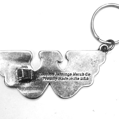 Waylon Jennings Flying W Keychain and Bottle Opener - Accessories - Waylon Jennings Merch Co.