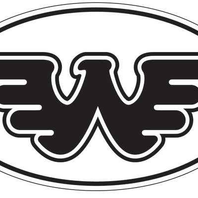 Flying W Sticker - Stickers - Waylon Jennings Merch Co.