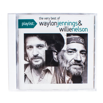Waylon Jennings & Willie Nelson - The Very Best of Waylon Jennings & Willie Nelson CD - Music - Waylon Jennings Merch Co.