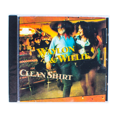 Waylon Jennings & Willie Nelson - Clean Shirt CD - Music - Waylon Jennings Merch Co.