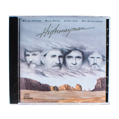 The Highwaymen (Waylon Jennings, Johnny Cash, Willie Nelson, Kris Kristofferson) - Highwayman CD - Music - Waylon Jennings Merch Co.