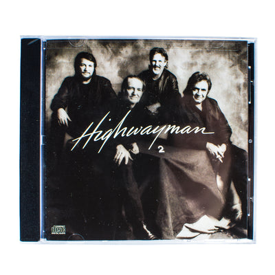 The Highwaymen (Waylon Jennings, Johnny Cash, Willie Nelson, Kris Kristofferson) - Highwayman 2 CD - Music - Waylon Jennings Merch Co.