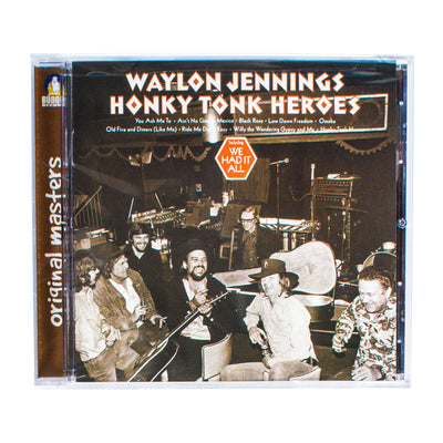 Waylon Jennings - Honky Tonk Heroes CD - Music - Waylon Jennings Merch Co.