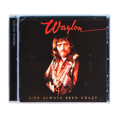 Waylon Jennings - I've Always Been Crazy CD - Music - Waylon Jennings Merch Co.