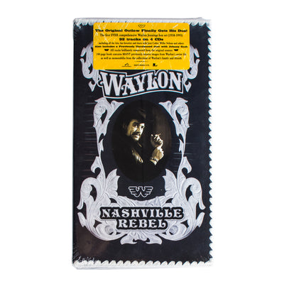 Waylon Jennings - Nashville Rebel Box Set - Music - Waylon Jennings Merch Co.