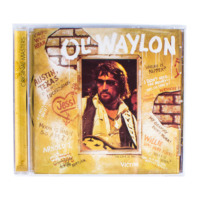 Waylon Jennings - Ol' Waylon CD - Music - Waylon Jennings Merch Co.