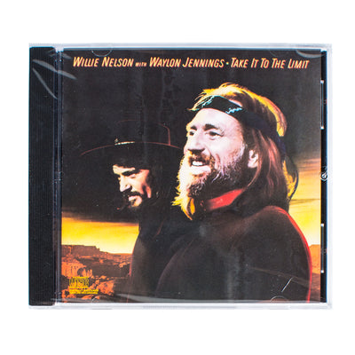 Willie Nelson with Waylon Jennings - Take It To The Limit CD - Music - Waylon Jennings Merch Co.
