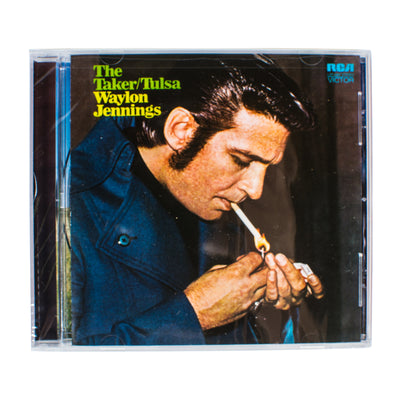 Waylon Jennings - The Taker/Tulsa CD