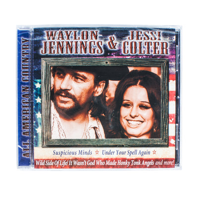 Waylon Jennings & Jessi Colter - All American Country CD - Music - Waylon Jennings Merch Co.