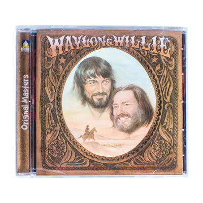 Waylon Jennings & Willie Nelson - Waylon & Willie Album CD - Music - Waylon Jennings Merch Co.