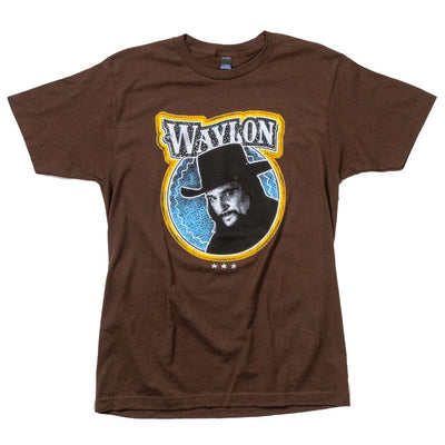 Waylon Jennings Picture of an Outlaw Tee - Men's Tee Shirt - Waylon Jennings Merch Co.