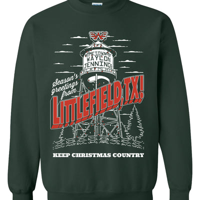 Waylon Jennings Keep Christmas Country 2020 Holiday Sweatshirt