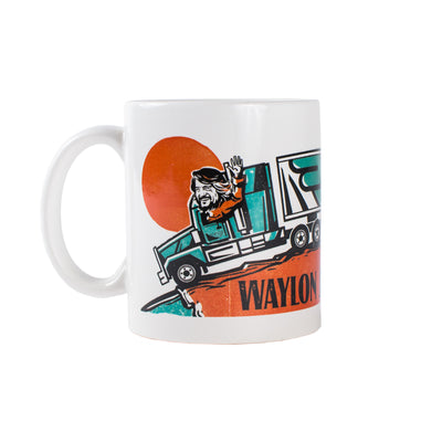 Waylon Jennings Coffee Mug -  - Waylon Jennings Merch Co.
