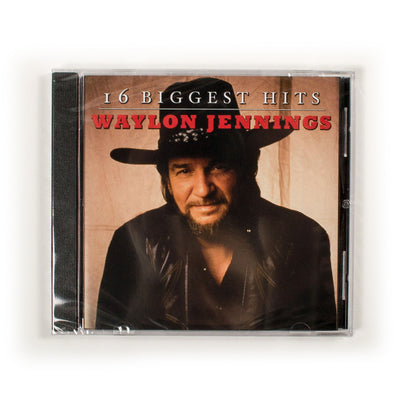 Waylon Jennings - 16 Biggest Hits CD - Music - Waylon Jennings Merch Co.