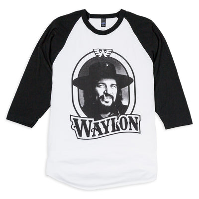 Waylon Jennings Tour '79 Unisex Raglan - Men's Tee Shirt - Waylon Jennings Merch Co.