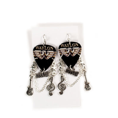 Outlaw Flying W Earrings - Accessories - Waylon Jennings Merch Co.