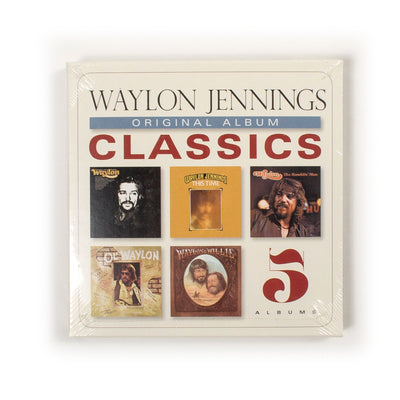Waylon Jennings - Original Album Classics CDs - Music - Waylon Jennings Merch Co.
