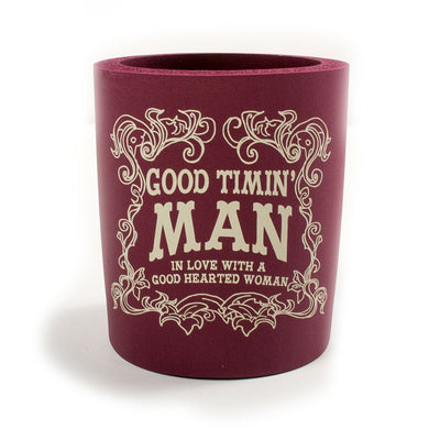 Good Timin' Man Koozie - Koozie - Waylon Jennings Merch Co.