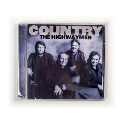 The Highwaymen (Waylon Jennings, Johnny Cash, Willie Nelson, Kris Kristofferson) - Country CD - Music - Waylon Jennings Merch Co.