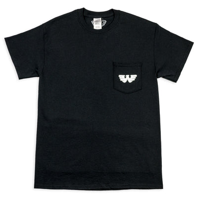 Waylon Jennings Eagle Men's Pocket Tee Shirt - Men's Tee Shirt - Waylon Jennings Merch Co.