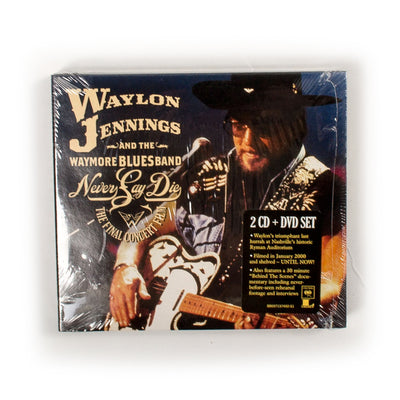 Waylon Jennings and the Waymore Blues Band - Never Say Die CD Set - Music - Waylon Jennings Merch Co.