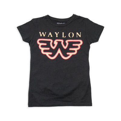 Waylon Jennings Flying W Women's Tee - Women's Tee Shirt - Waylon Jennings Merch Co.