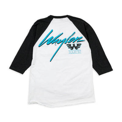 Waylon Jennings Hangin' Tough Baseball Tee - Men's Tee Shirt - Waylon Jennings Merch Co.
