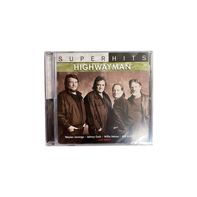 Highwayman Superhits CD - Music - Waylon Jennings Merch Co.