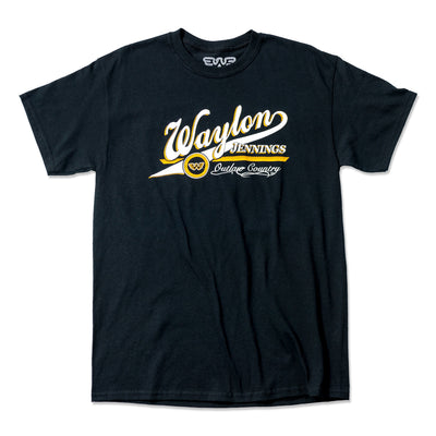 Waylon Jennings Outlaw Home Team Men's Tee - Men's Tee Shirt - Waylon Jennings Merch Co.