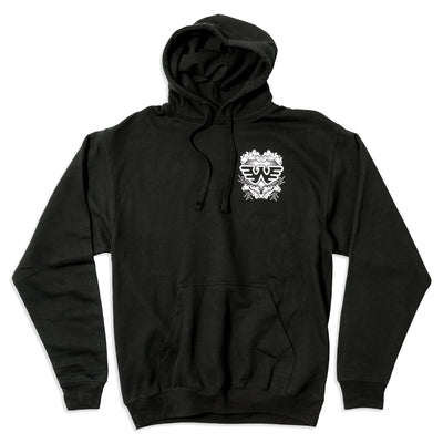 Flying W Crest Pullover Hoodie - Men's Tee Shirt - Waylon Jennings Merch Co.