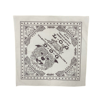 "22""  Log Dog Bandana - Accessories - Waylon Jennings Merch Co."
