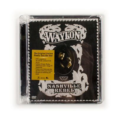 Waylon Jennings - Nashville Rebel DVD - Music - Waylon Jennings Merch Co.