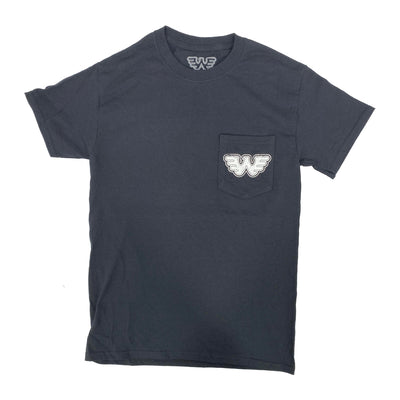 Waylon for President Men's Pocket Tee Shirt - Men's Tee Shirt - Waylon Jennings Merch Co.