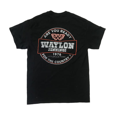 Waylon Jennings 1976 Mens Tee Shirt - Men's Tee Shirt - Waylon Jennings Merch Co.
