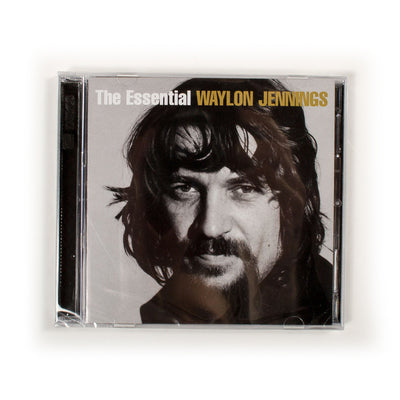 The Essential Waylon Jennings CD - Music - Waylon Jennings Merch Co.