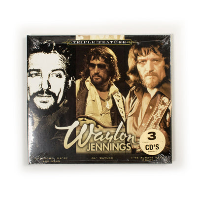 Waylon Jennings - Triple Feature CD - Music - Waylon Jennings Merch Co.